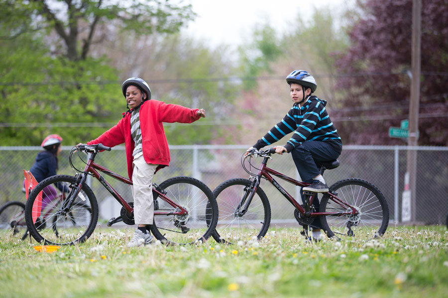 Learn about BLAST: Kids on Bikes, our youth education program