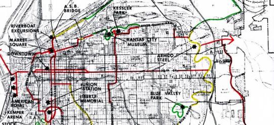 1980 KC Parks Bikeway Plan