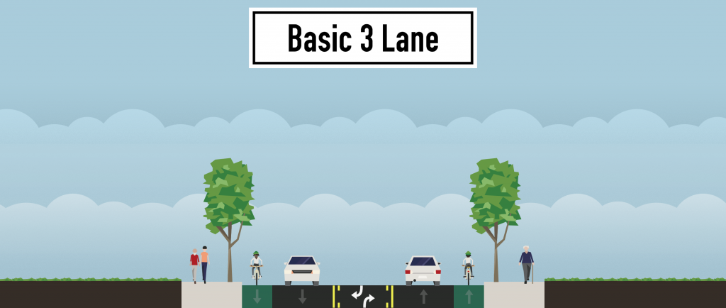 Reimagined Version of the Typical 4 Lane