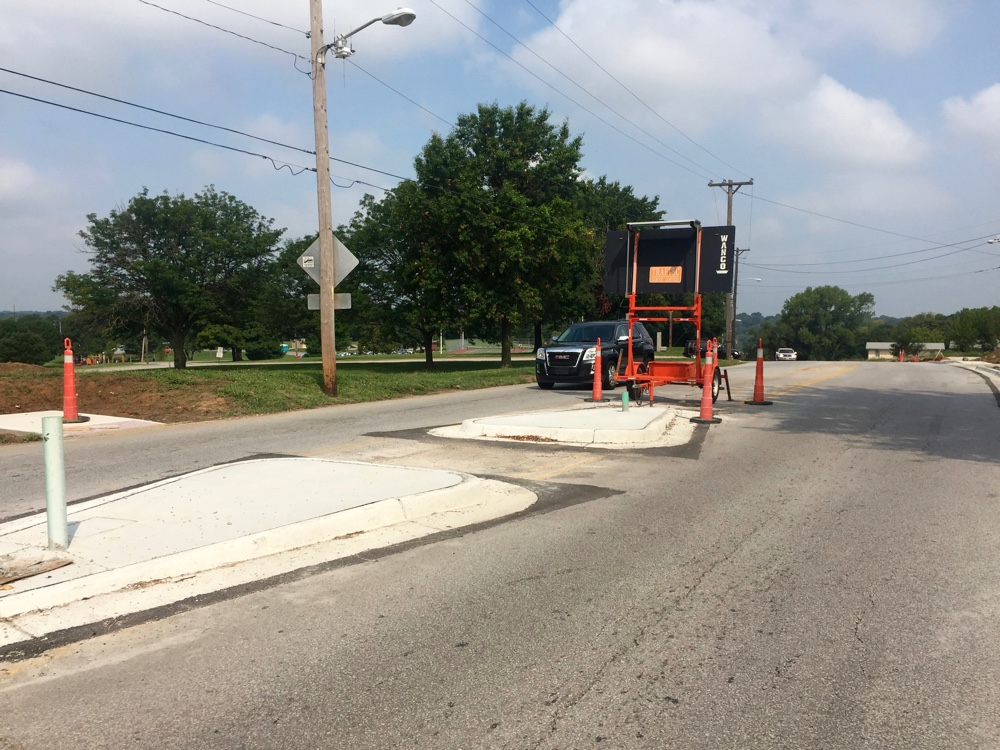 Road Diet and Sidewalk for Mission Road in KCK