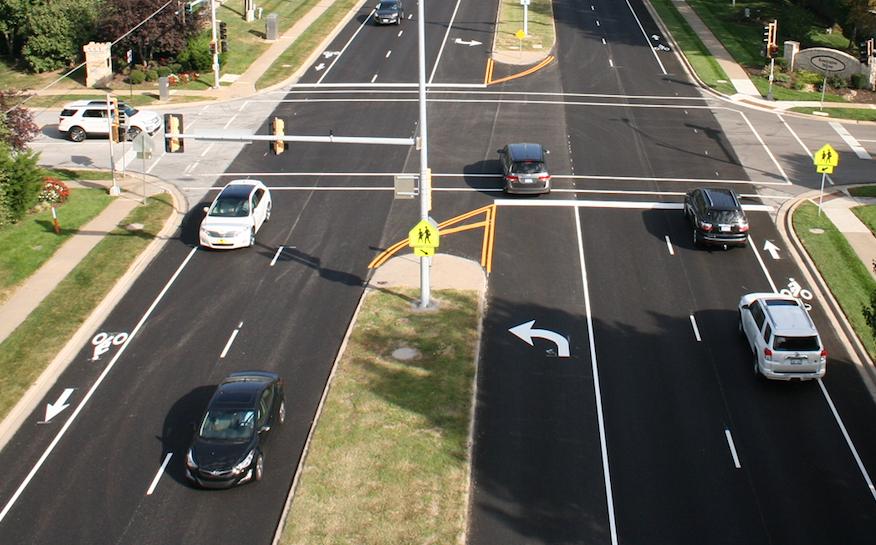 New bike lanes on Switzer Road